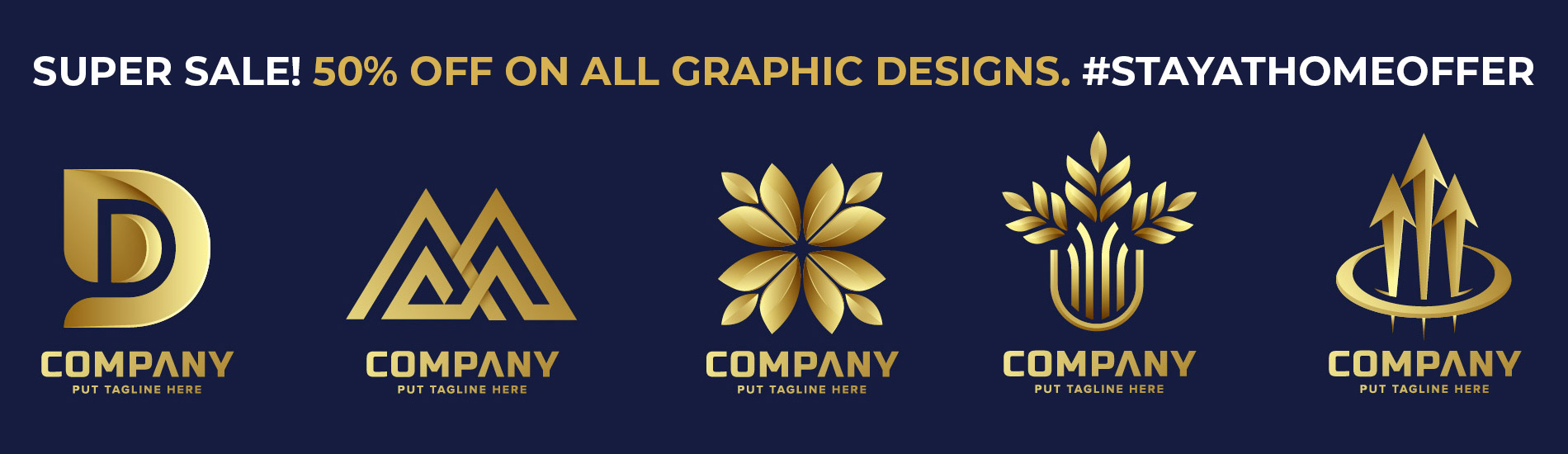 Graphic Design Stay at Home Offer!